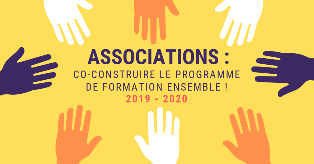 Associations nanterriennes :  vos formations 2019-2020